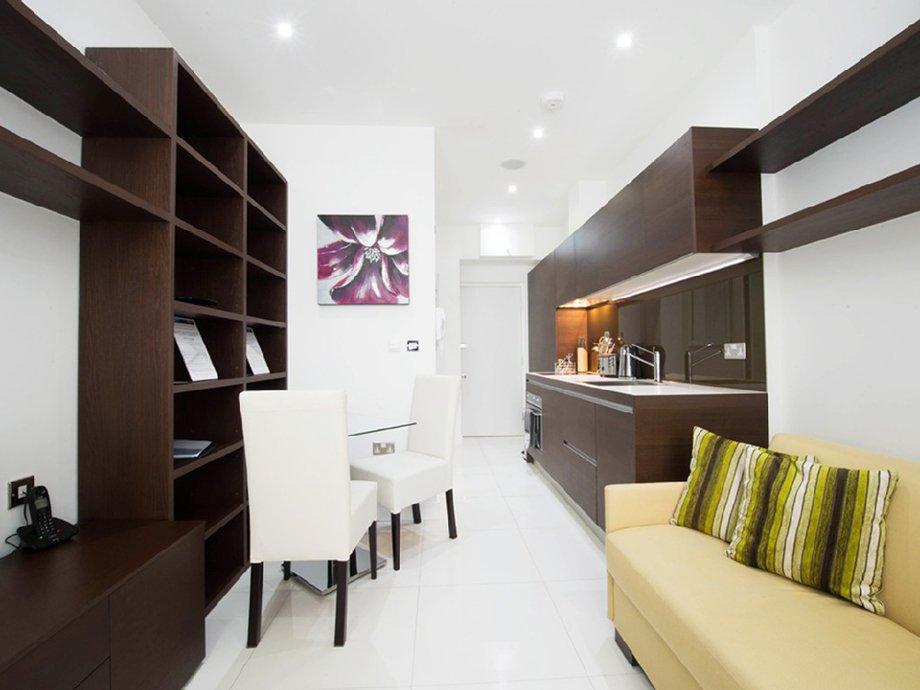 фото квартиры-студии: общий вид