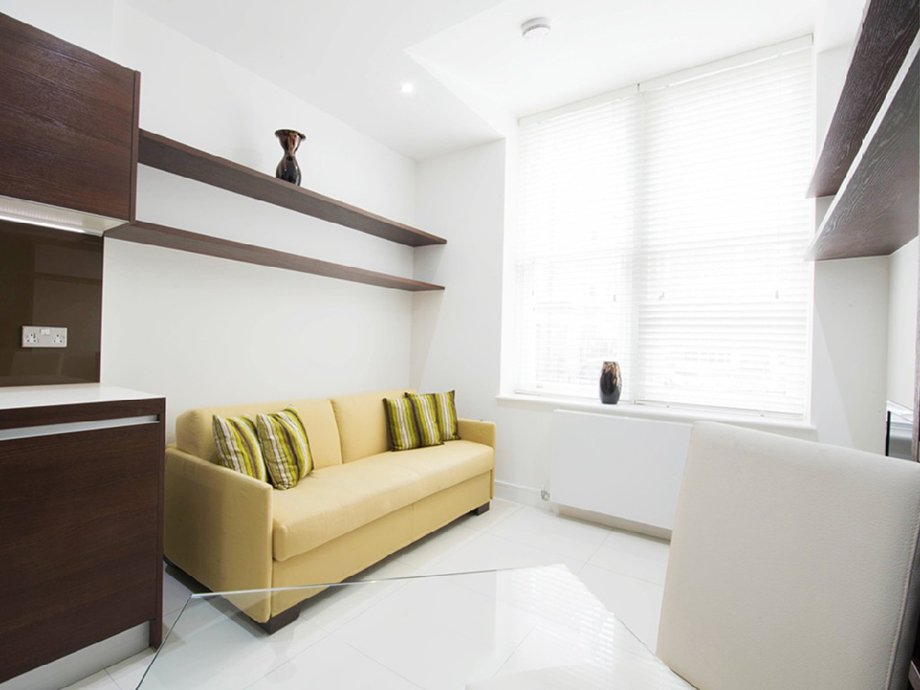 фото квартиры-студии: комната