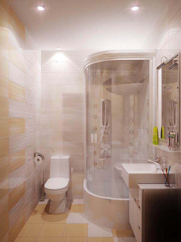 фото квартиры-студии: ванная комната