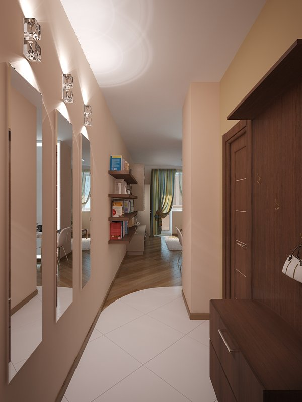 фото квартиры-студии: прихожая