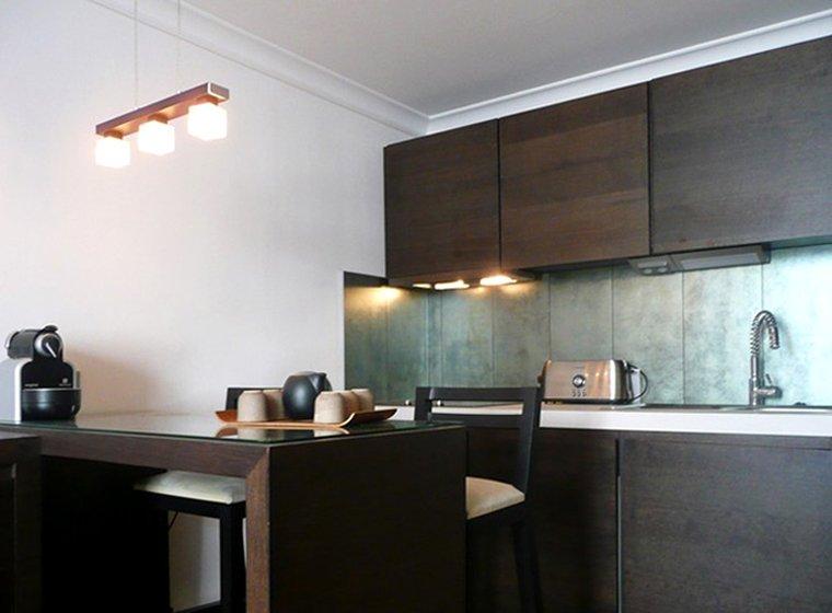 квартира студия 28м2 - кухня
