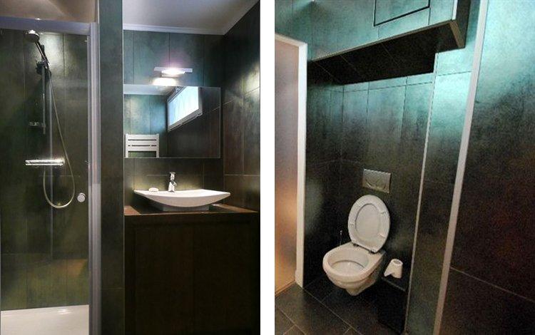 квартира студия 28м2 - ванная комната