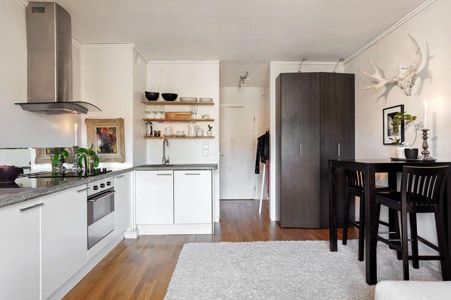 фото: зона кухни
