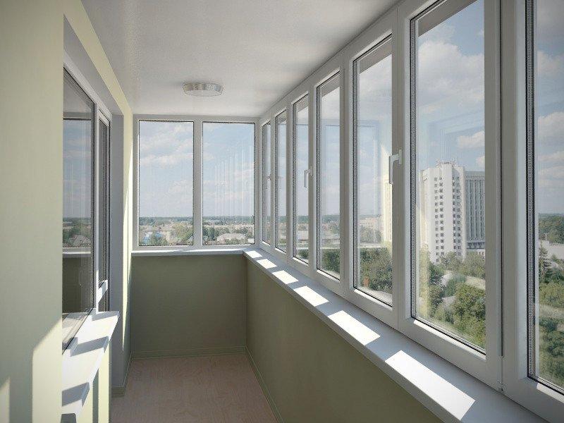 Остекление балконов или лоджий